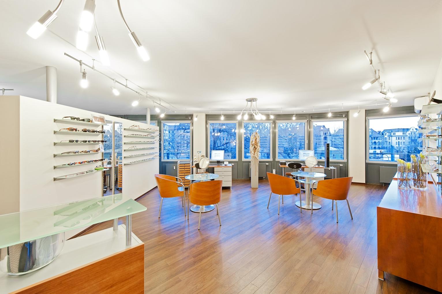 Brillen Kontaktlinsen Studio Verkaufsraum